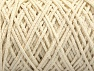 Please be advised that yarn iade made of recycled cotton, and dye lot differences occur. Fiber Content 100% Cotton, Brand Ice Yarns, Ecru, Yarn Thickness 5 Bulky  Chunky, Craft, Rug, fnt2-60412