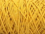 Please be advised that yarn iade made of recycled cotton, and dye lot differences occur. Fiber Content 100% Cotton, Yellow, Brand Ice Yarns, Yarn Thickness 5 Bulky  Chunky, Craft, Rug, fnt2-60413
