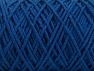 Please be advised that yarn iade made of recycled cotton, and dye lot differences occur. Fiber Content 100% Cotton, Brand Ice Yarns, Blue, Yarn Thickness 5 Bulky  Chunky, Craft, Rug, fnt2-60415