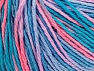 Fiber Content 100% Acrylic, Turquoise Shades, Salmon, Lilac, Brand Ice Yarns, Yarn Thickness 2 Fine  Sport, Baby, fnt2-60461