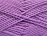 Fiber Content 50% Acrylic, 25% Alpaca, 25% Wool, Lilac, Brand Ice Yarns, Yarn Thickness 5 Bulky  Chunky, Craft, Rug, fnt2-60864