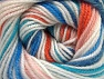 Fiber Content 100% Premium Acrylic, Turquoise, Orange, Light Pink, Brand Ice Yarns, Blue, Yarn Thickness 3 Light  DK, Light, Worsted, fnt2-60878