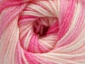 Fiber Content 100% Premium Acrylic, White, Pink Shades, Brand Ice Yarns, Yarn Thickness 3 Light  DK, Light, Worsted, fnt2-60886