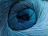 Fiber Content 60% Premium Acrylic, 20% Wool, 20% Alpaca, Turquoise Shades, Brand Ice Yarns, Blue, Yarn Thickness 2 Fine  Sport, Baby, fnt2-60996