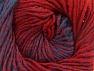 Fiber Content 75% Premium Acrylic, 25% Wool, Red, Brand Ice Yarns, Blue, Yarn Thickness 4 Medium  Worsted, Afghan, Aran, fnt2-61021