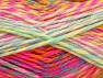 Fiber Content 100% Premium Acrylic, Yellow, Pink, Orange, Mint Green, Lilac, Brand Ice Yarns, Yarn Thickness 4 Medium  Worsted, Afghan, Aran, fnt2-61113