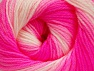 Fiber Content 100% Baby Acrylic, White, Neon Pink, Light Pink, Brand Ice Yarns, Yarn Thickness 2 Fine  Sport, Baby, fnt2-61386