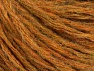 Fiber Content 50% Wool, 50% Acrylic, Brand Ice Yarns, Gold Melange, Yarn Thickness 4 Medium  Worsted, Afghan, Aran, fnt2-62713