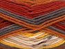 Fiber Content 75% Superwash Wool, 25% Polyamide, Yellow, Brand Ice Yarns, Grey, Cream, Copper, fnt2-62882