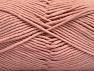 Fiber Content 55% Cotton, 45% Acrylic, Powder Pink, Brand Ice Yarns, Yarn Thickness 4 Medium  Worsted, Afghan, Aran, fnt2-63102