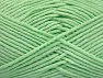 Fiber Content 55% Cotton, 45% Acrylic, Mint Green, Brand Ice Yarns, Yarn Thickness 4 Medium  Worsted, Afghan, Aran, fnt2-63105