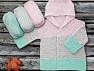 Fiber Content 100% Antipilling Acrylic, Mint Green, Brand Ice Yarns, Baby Pink, Yarn Thickness 4 Medium  Worsted, Afghan, Aran, fnt2-63232