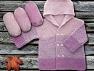 Fiber Content 100% Antipilling Acrylic, Light Pink, Lavender, Brand Ice Yarns, Yarn Thickness 4 Medium  Worsted, Afghan, Aran, fnt2-63236