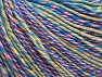 Fiber Content 55% Cotton, 45% Acrylic, Yellow, Pink, Lilac, Brand Ice Yarns, Green, Blue Shades, Yarn Thickness 3 Light  DK, Light, Worsted, fnt2-63415