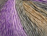 Fiber Content 70% Acrylic, 30% Wool, Lilac Shades, Brand Ice Yarns, Grey Shades, Camel, Yarn Thickness 4 Medium  Worsted, Afghan, Aran, fnt2-63454