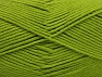 Fiber Content 52% Nylon, 48% Acrylic, Brand Ice Yarns, Green, Yarn Thickness 4 Medium  Worsted, Afghan, Aran, fnt2-63465
