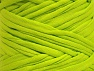 Make handbags,rugs,basket and cushion covers with this genius new-fashion yarn!<p>Since the yarn is made by upcycling fabrics, and because of the nature of the yarn; take the following notes into consideration. </p><ul><li>Fiber content information may vary. Information given about fiber content is approximate. </li><li>The yardage and weight information of the yarn is approximate. </li></ul> Fiber Content 95% Cotton, 5% Elastan, Neon Green, Brand Ice Yarns, Yarn Thickness 6 SuperBulky  Bulky, Roving, fnt2-63573