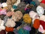 This mixed lot includes unlabeled leftover yarns. There is no standard for fiber content and ball weight. The total weight is 2000 gr (70.5 oz.). You will get what you see in the photo. In this list; you see most recent 50 mixed lots. <br> To see all <a href=&amp/mixed_lots/o/4#list&amp>CLICK HERE</a> (Old ones have much better deals)<hr> Brand Ice Yarns, fnt2-63699