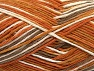 Fiber Content 100% Cotton, Brand Ice Yarns, Gold, Cream, Brown, Yarn Thickness 3 Light  DK, Light, Worsted, fnt2-64035