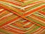 Fiber Content 100% Cotton, Orange, Brand Ice Yarns, Green, Cream, Yarn Thickness 3 Light  DK, Light, Worsted, fnt2-64037