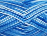 Fiber Content 100% Cotton, Brand Ice Yarns, Blue Shades, Yarn Thickness 3 Light  DK, Light, Worsted, fnt2-64167