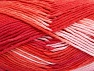 Fiber Content 100% Cotton, Salmon, Red, Pink, Brand Ice Yarns, Yarn Thickness 4 Medium  Worsted, Afghan, Aran, fnt2-64191