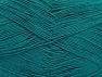 Fiber Content 55% Cotton, 45% Acrylic, Brand Ice Yarns, Emerald Green, Yarn Thickness 1 SuperFine Sock, Fingering, Baby, fnt2-64232