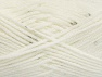 Fiber Content 98% Acrylic, 2% Paillette, White, Brand Ice Yarns, Yarn Thickness 4 Medium  Worsted, Afghan, Aran, fnt2-64443
