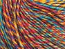 Fiber Content 55% Cotton, 45% Acrylic, Yellow, Turquoise, Orange, Brand Ice Yarns, Brown, Yarn Thickness 3 Light  DK, Light, Worsted, fnt2-64458