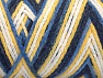 Fiber Content 50% Acrylic, 50% Polyamide, Yellow, White, Navy, Brand Ice Yarns, Blue, Yarn Thickness 4 Medium  Worsted, Afghan, Aran, fnt2-64470