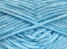 Fiber Content 100% Micro Fiber, Light Blue, Brand Ice Yarns, Yarn Thickness 3 Light  DK, Light, Worsted, fnt2-64511