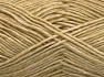 Fiber Content 80% Cotton, 20% Acrylic, Brand Ice Yarns, Beige, Yarn Thickness 2 Fine  Sport, Baby, fnt2-64549