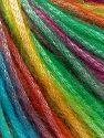 Fiber Content 56% Polyester, 44% Acrylic, Rainbow, Brand Ice Yarns, Yarn Thickness 4 Medium  Worsted, Afghan, Aran, fnt2-64624
