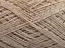 Fiber Content 76% Cotton, 24% Polyester, Light Beige, Brand Ice Yarns, Yarn Thickness 2 Fine  Sport, Baby, fnt2-64948