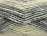 Fiber Content 50% Wool, 50% Premium Acrylic, Brand Ice Yarns, Grey Shades, Beige, Yarn Thickness 4 Medium  Worsted, Afghan, Aran, fnt2-65277