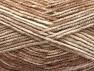 Fiber Content 50% Premium Acrylic, 50% Wool, Brand Ice Yarns, Cream, Camel, Beige, Yarn Thickness 4 Medium  Worsted, Afghan, Aran, fnt2-65281
