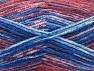 Fiber Content 50% Premium Acrylic, 50% Wool, Red, Brand Ice Yarns, Grey, Blue, Yarn Thickness 4 Medium  Worsted, Afghan, Aran, fnt2-65288