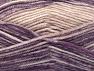 Fiber Content 50% Wool, 50% Premium Acrylic, Purple Shades, Powder Pink, Brand Ice Yarns, Yarn Thickness 4 Medium  Worsted, Afghan, Aran, fnt2-65290