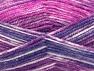 Fiber Content 50% Wool, 50% Premium Acrylic, Purple, Brand Ice Yarns, Fuchsia, Yarn Thickness 4 Medium  Worsted, Afghan, Aran, fnt2-65291