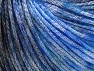 Fiber Content 62% Polyester, 19% Merino Wool, 19% Acrylic, Brand Ice Yarns, Blue, Black, Yarn Thickness 4 Medium  Worsted, Afghan, Aran, fnt2-65326
