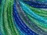 Fiber Content 40% Acrylic, 30% Wool, 30% Metallic Lurex, Brand Ice Yarns, Green Shades, Blue Shades, Yarn Thickness 4 Medium  Worsted, Afghan, Aran, fnt2-65602