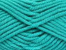 Fiber Content 50% Acrylic, 50% Wool, Turquoise, Brand Ice Yarns, Yarn Thickness 6 SuperBulky  Bulky, Roving, fnt2-65635