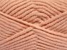 Fiber Content 50% Acrylic, 50% Wool, Light Salmon, Brand Ice Yarns, Yarn Thickness 6 SuperBulky  Bulky, Roving, fnt2-65637