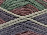 Fiber Content 50% Acrylic, 50% Wool, Maroon, Lilac, Brand Ice Yarns, Green Shades, Yarn Thickness 6 SuperBulky  Bulky, Roving, fnt2-65639