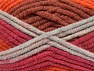 Fiber Content 50% Acrylic, 50% Wool, Red, Orange Shades, Light Grey, Brand Ice Yarns, Yarn Thickness 6 SuperBulky  Bulky, Roving, fnt2-65641