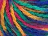 Fiber Content 50% Acrylic, 50% Wool, Yellow, Brand Ice Yarns, Green, Fuchsia, Blue, Yarn Thickness 4 Medium  Worsted, Afghan, Aran, fnt2-65652