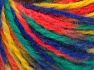 Fiber Content 50% Acrylic, 50% Wool, Yellow, Orange, Brand Ice Yarns, Green, Blue, Yarn Thickness 4 Medium  Worsted, Afghan, Aran, fnt2-65653