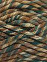 Fiber Content 75% Acrylic, 25% Superwash Wool, Brand Ice Yarns, Green Shades, Brown Shades, Yarn Thickness 6 SuperBulky  Bulky, Roving, fnt2-65760