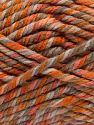 Fiber Content 75% Acrylic, 25% Superwash Wool, Orange Shades, Brand Ice Yarns, Camel, Beige, Yarn Thickness 6 SuperBulky  Bulky, Roving, fnt2-65761