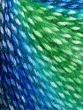 Fiber Content 40% Polyamide, 35% Acrylic, 15% Mohair, 10% Metallic Lurex, Brand Ice Yarns, Green Shades, Blue Shades, Yarn Thickness 3 Light  DK, Light, Worsted, fnt2-65805
